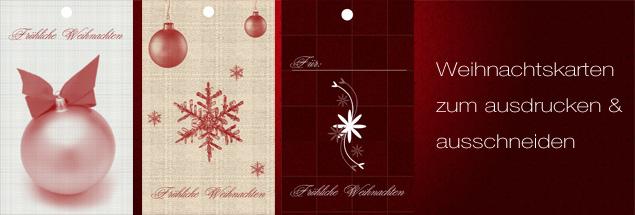 Weihnachskarten