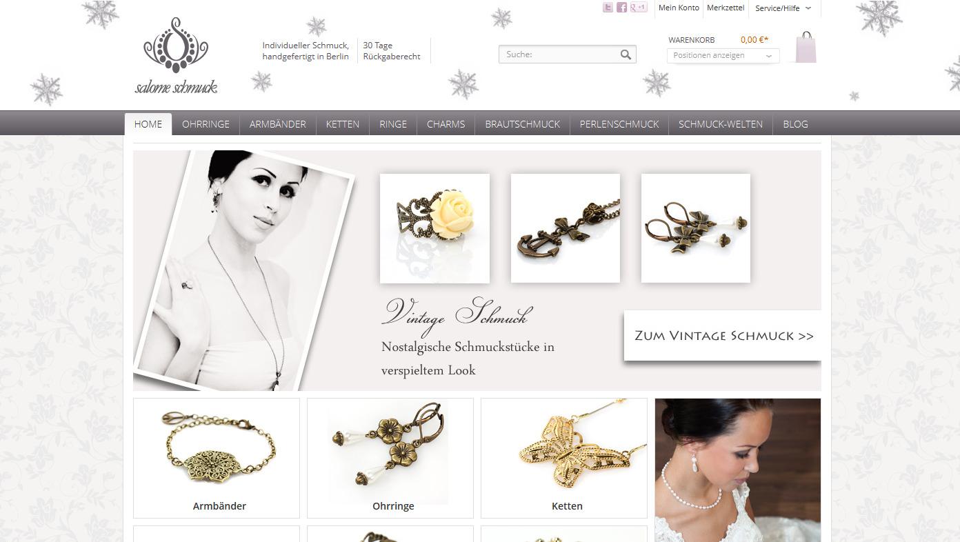 Salome Schmuck - Modeschmuck Online Shop