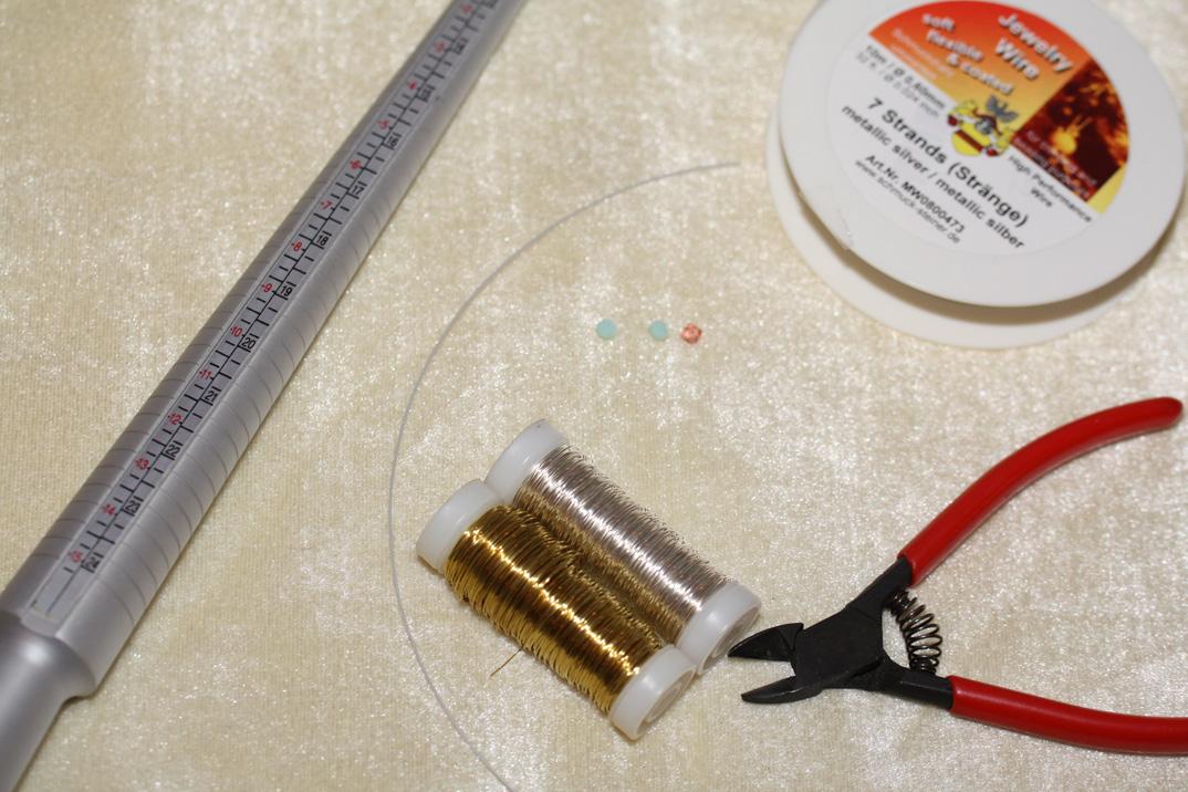 DIY Ring Materialien