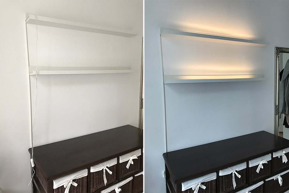 10-IKEA-Mosslanda-Bilderleiste-mit-integriertem-Licht-Hack