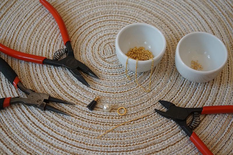 DIY Kette Material