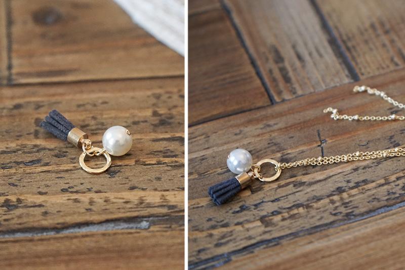 DIY Perlenkette Schritt 2