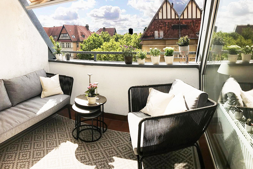 diy balkon verschönern