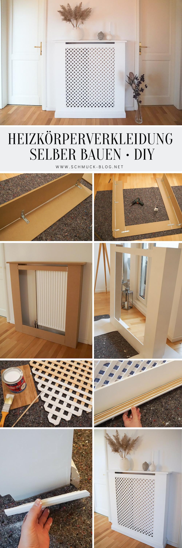 Baue eine DIY Heizkörperverkleidung nach Maß nach deinen eigenen Vorgaben und Wünschen mit dieser einfachen Anleitung zum nachmachen und selbst bauen. DIY Interior leicht gemacht!