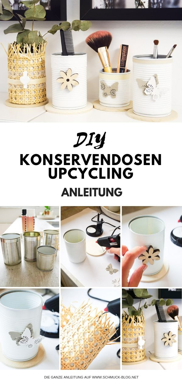 konservendosen upcycling diy