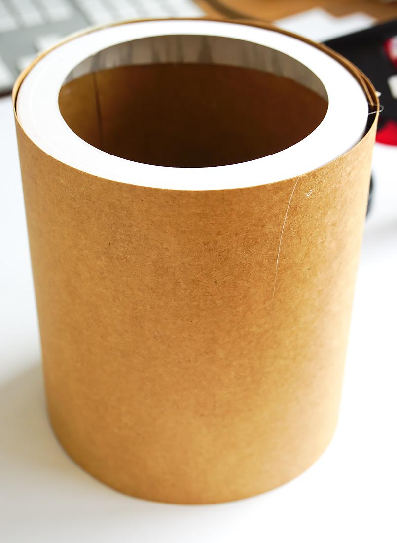 vase aus papier diy
